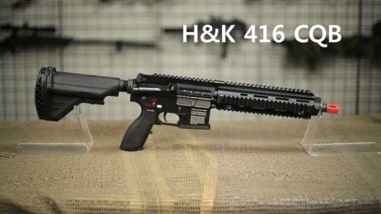 Airsoft GI DIY – Kit de conversion H&K 416 IAR Tutoriel Tech-Time