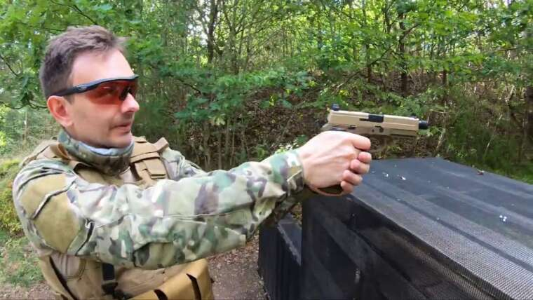 Tokyo Marui Airsoft Type FNX 45 Tactical Review