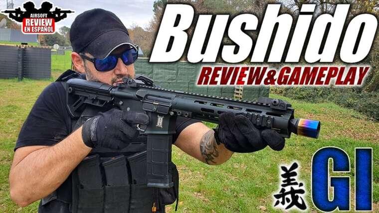 M4 Saigo Bushido GI amélioré · Mise à niveau VsGun (test et jeu) |  Revue Airsoft en espagnol