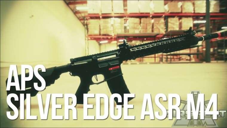 Carabine APS Silver Edge Airsoft M4 ASR 114 & 115 AEG – AirSplat On Demand