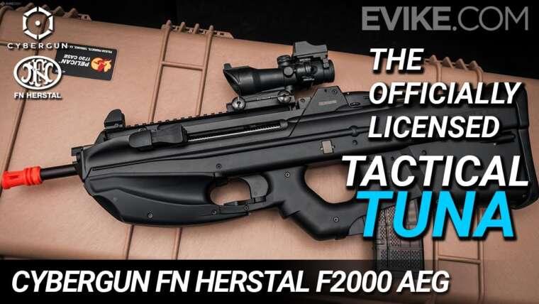 """Le sous licence officielle """"Thon tactique"""" – Cybergun FN Herstal F2000 AEG – Critique"""