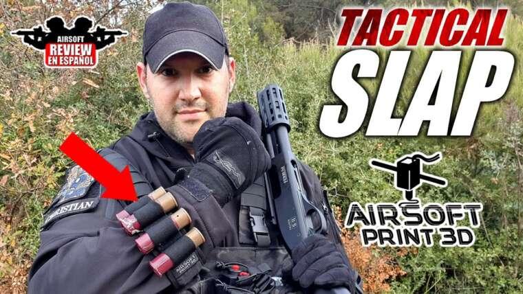 Porte-cartouche TACTICAL SLAP pour Shotgun |  Revue Airsoft en espagnol