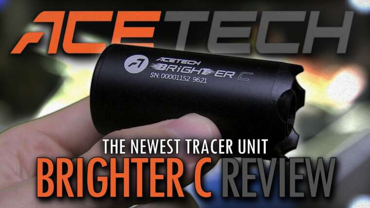 La plus récente unité de traceur Airsoft (Acetech Brighter C & Predator MKII)