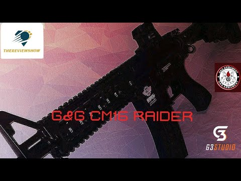 Critique du G&G CM16 Raider Airsoft