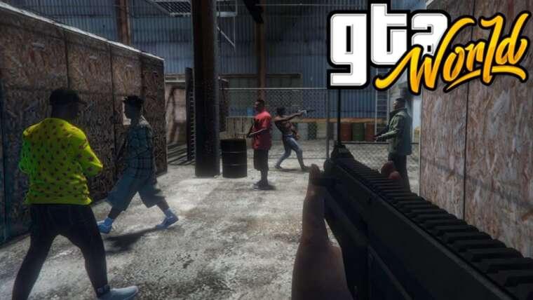GTA: MONDE |  Deathmatch |  GTA V RP