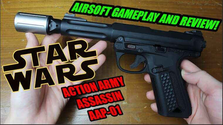 Action Army Assassin AAP-01     Gameplay et revue Airsoft     QSAirsoft