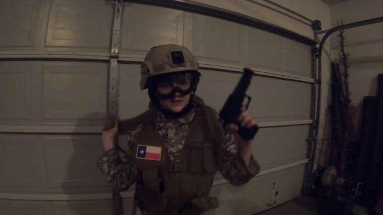 airsoft examen pistolet de reconnaissance
