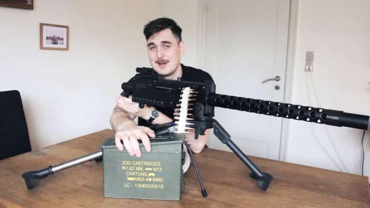 Revue de l'armurerie Airsoft – Viva Arms M1919