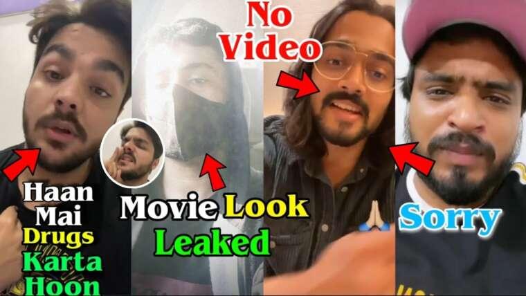 Ashish a accepté qu'il fasse de la drogue?, Carryminati commence le tournage du film, BB, Amit Bhadana, Harsh Beniwal