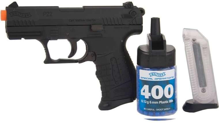 Revue du pistolet airsoft Walther P22!