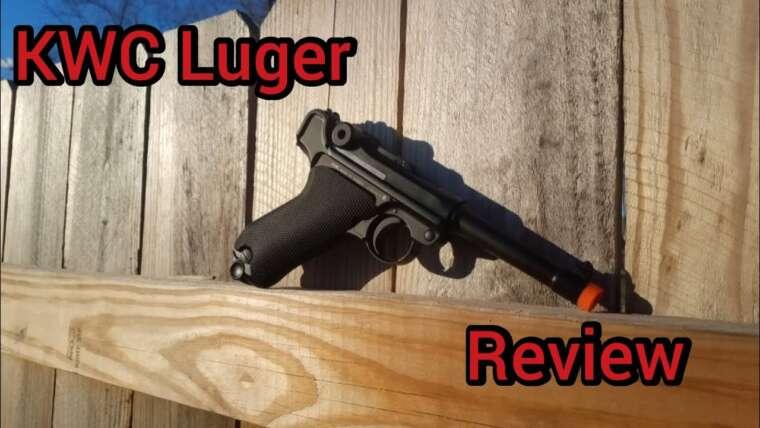 Revue du pistolet KWC Luger Airsoft