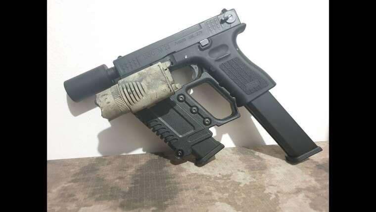 AVIS AIRSOFT – G kriss XI copia para Glock