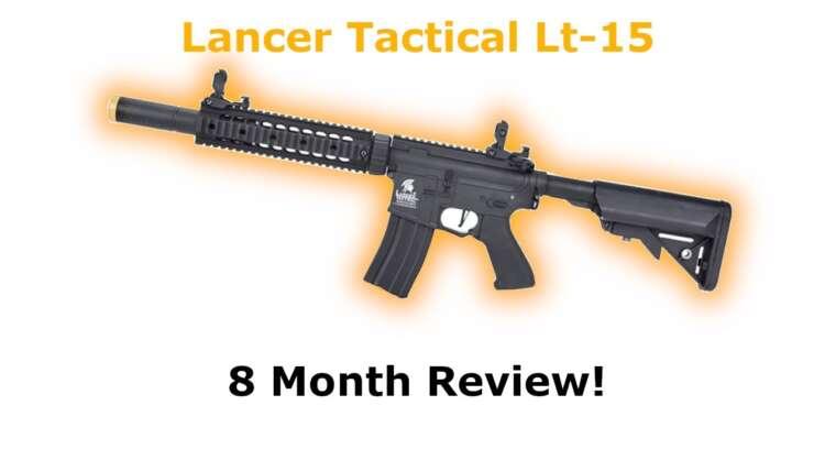 Lancer Tactical Lt-15 Gen 2 |  Revue de 8 mois!