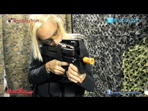 Examen du fusil Airsoft électrique Classic Army P90