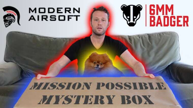 """Airsoft moderne """"Mission possible"""" Mystery Box 2020 Unboxing …"""