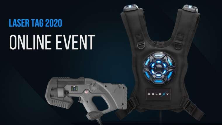 Événement en ligne des nouveaux produits laser tag 2020!
