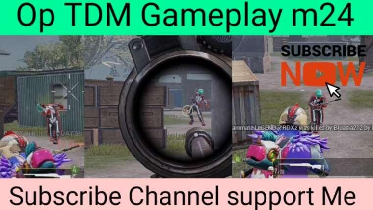 TDM M24 Gameplay Op Shot Like et Shere s'abonner