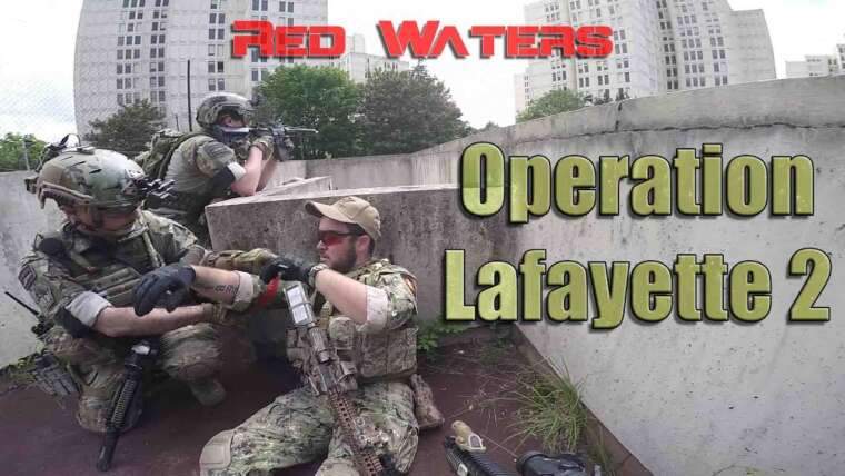 "[Urban-CQB] Airsoft-France (Lafayette 2 -Battle for Paris-) Red Waters Casern ""Déclencheur sauvage"""