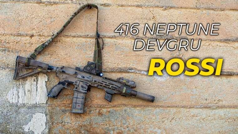 HK416 Devgru ROSSI + 800 ch |  #LaCuevaDelTactical #FullCucumber |  Forces OGA