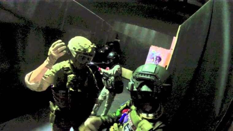 Se faire poignarder en jouant à l'airsoft?  vidéo complète