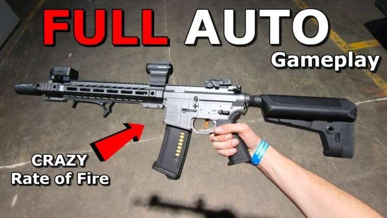 FULL AUTO Crazy M4 détruit l'équipe ennemie!  Gameplay INSANE RPS Airsoft!