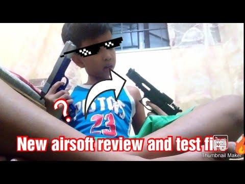 New Airsoft Gunnsssss Yow Guys examen et test de tir 🔥 Résultats