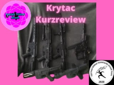 Krytac Collection Airsoft Short Review Review # 02