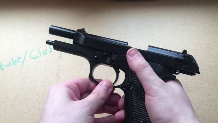 WE M92 v.2 – Pistolet Airsoft