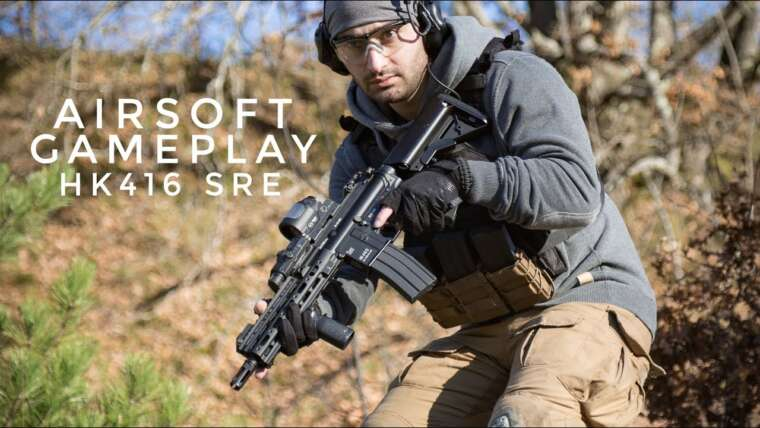 Airsoft Gameplay ITA 2020 – HK416 MARUI SRE – Capturer et défendre le drapeau – SUB ENG