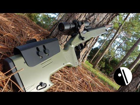Revoir le fusil de sniper airsoft ASG McMillan M40A3 !!!
