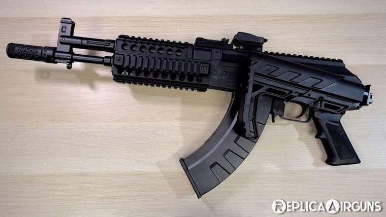 Crosman AK1 CO2 Blowback Full Auto BB Rifle Table Top Review