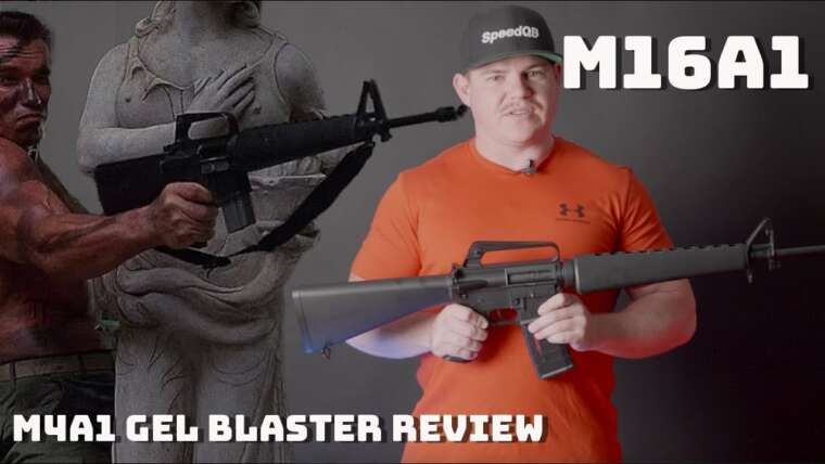 M16A1 Gel Blaster Review – Arnolds Favorite Toy – M4A1 Gel Blaster Review