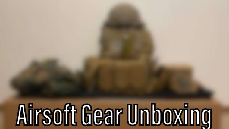 Airsoft Gear Unboxing