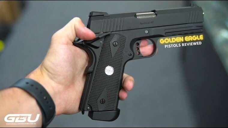 NOUVEAUX pistolets Golden Eagle Gas Blowback Gel Blaster!  (NOUS LES EXAMINONS TOUS) 🚨