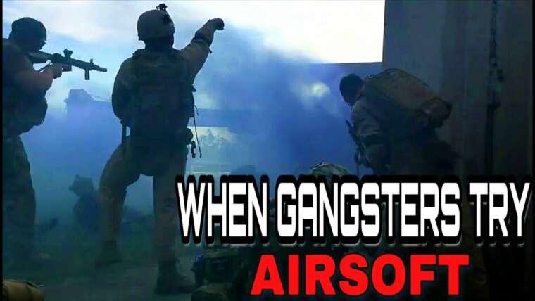 Quand les gangsters essaient Airsoft pour la première fois