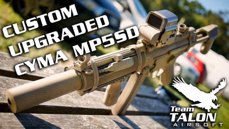 REVUE: Cyma MP5SD SD6 Blue Edition Airsoft amélioré aux spécifications élevées