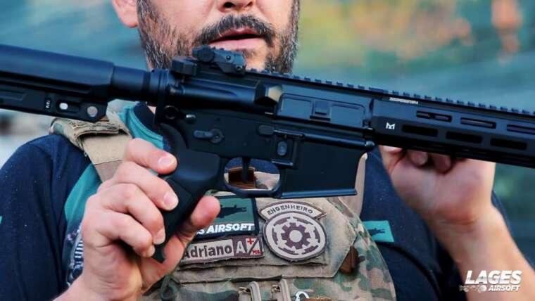 """Évaluer Carabine M4 de Airsoft Vince de 12 """"M906D"""