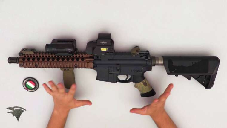 Évaluer Systema PTW 2012 w / Dual Sector Gear (SUB ENG)    Raven Airsoft / Airsoft Italia