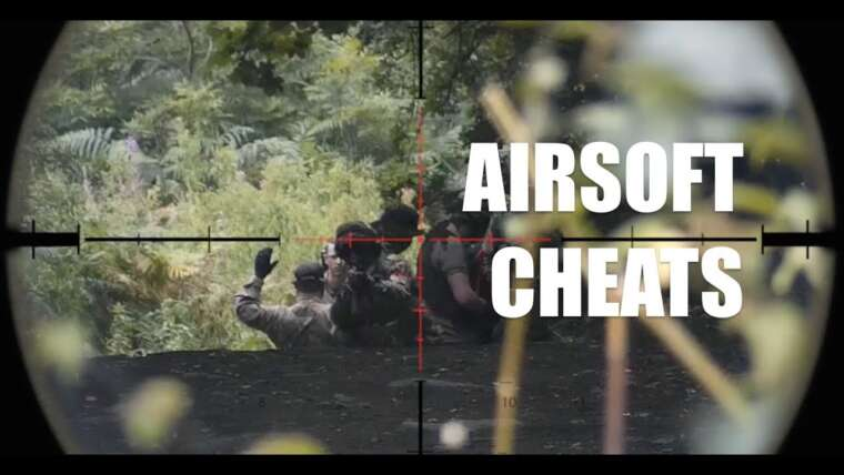 Airsoft sniper scopecam TEAM KILL & CHEATS