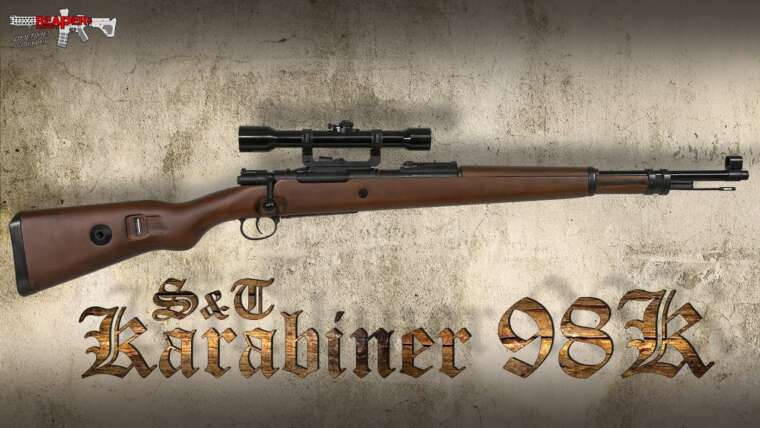 [Review] Karabiner 98 (Mauser K98) Réplique de carabine à air comprimé S&T 6 mm (Softair / Airsoft) – (Allemand)
