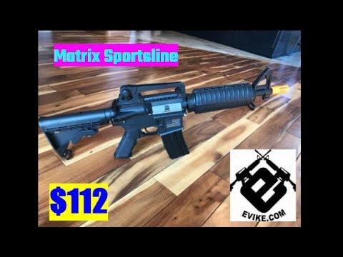 Matrix / S & T Sportsline M4 Airsoft examen et tir