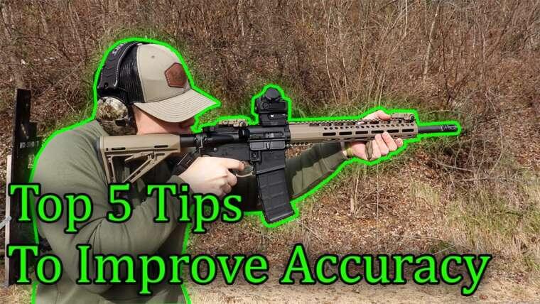 5 conseils pour améliorer votre précision et celle de votre fusil!