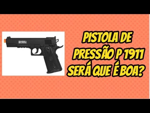 PISTOLET À PRESSION CO2 P1911SWISS ARMS 4.5