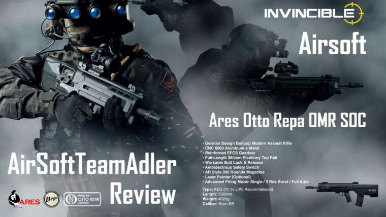Airsoft Ares Otto Repa OMR SOC AR Critique |  begadi.de |  Airsoftteamadler