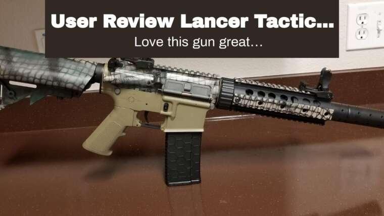 Avis d'utilisateur Lancer Tactical Airsoft M4 SD GEN 2 Polymer AEG – TAN