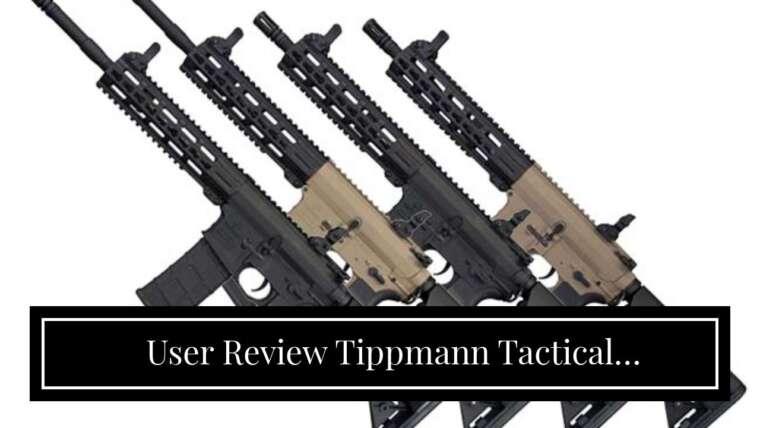 Revue de l'utilisateur Tippmann Tactical Commando AEG Carbine 14.5in Airsoft Rifle Black