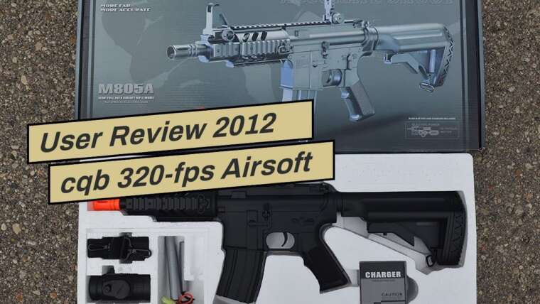 Revue de l'utilisateur 2012 cqb 320-fps Airsoft Rifle m16 / m4 Style red dot Version 1 1 Double Eagle cq …