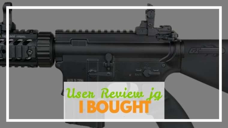 Revue de l'utilisateur JG M4 CQB AEG Carabine Airsoft Rifle (Airsoft Gun)