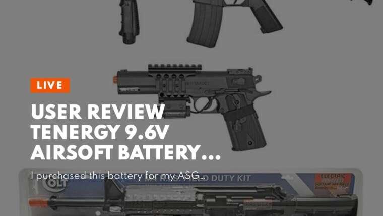 Avis d'utilisateur Tenergy 9.6V Airsoft Battery 1600mAh NiMH Nunchuck Battery w / Mini Tamiya Connec …