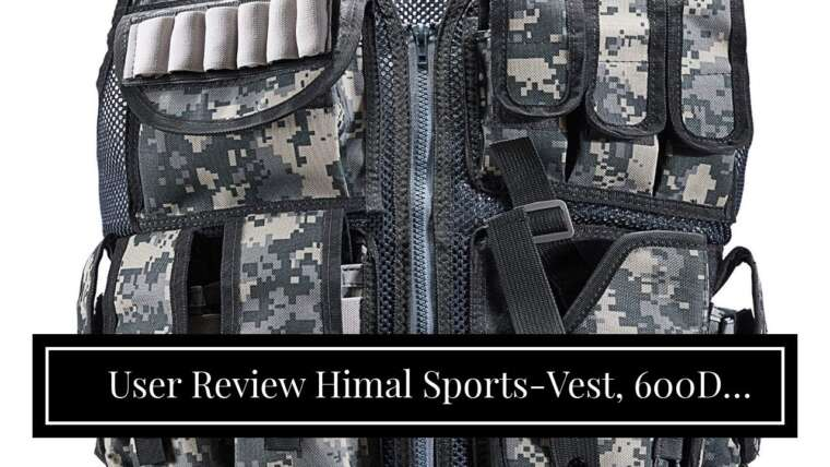 Avis de l'utilisateur Himal Sports-Vest, 600D Cryptage Polyester Réglable Léger Combat-Vest …